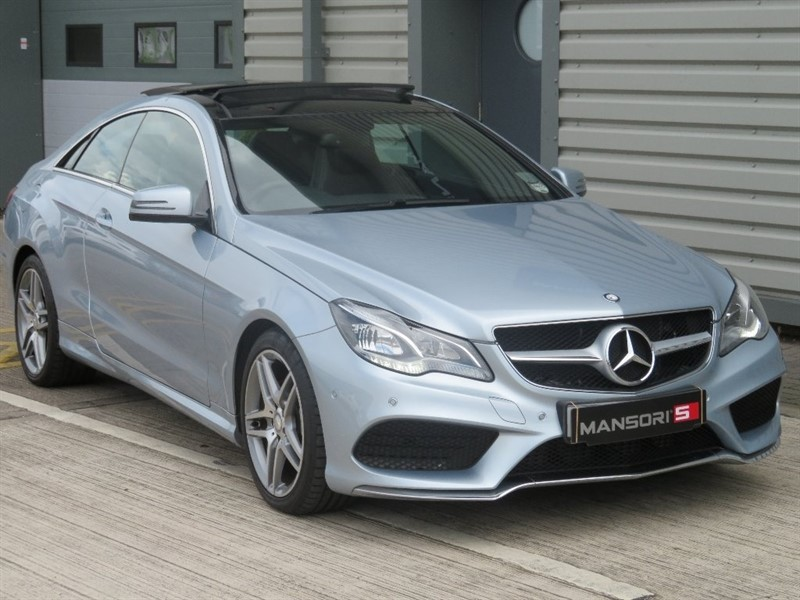 used Mercedes E250 E Class CDI AMG Sport 7G-Tronic Plus 2dr in cheshire