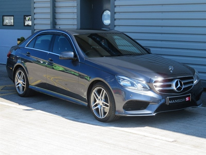used Mercedes E250 E Class CDI AMG Line 7G-Tronic Plus 4dr in cheshire