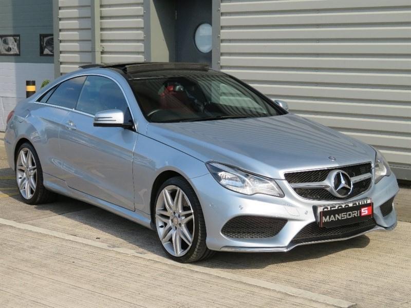 used Mercedes E350 E Class CDI BlueTEC AMG Sport 7G-Tronic Plus 2dr in cheshire