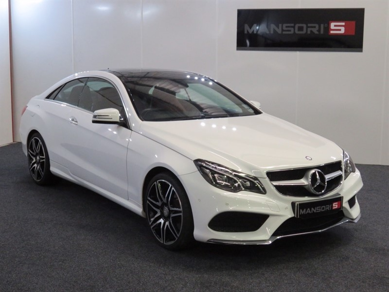 used Mercedes E400 E Class AMG Sport Plus 7G-Tronic 2dr in cheshire