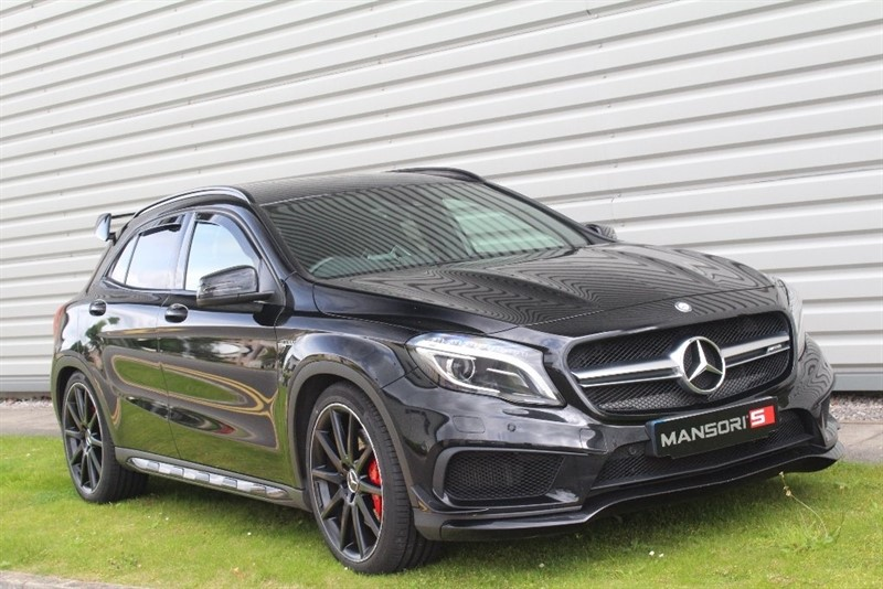 used Mercedes GLA45 AMG GLA Class Sport 4-MATIC 5dr in cheshire
