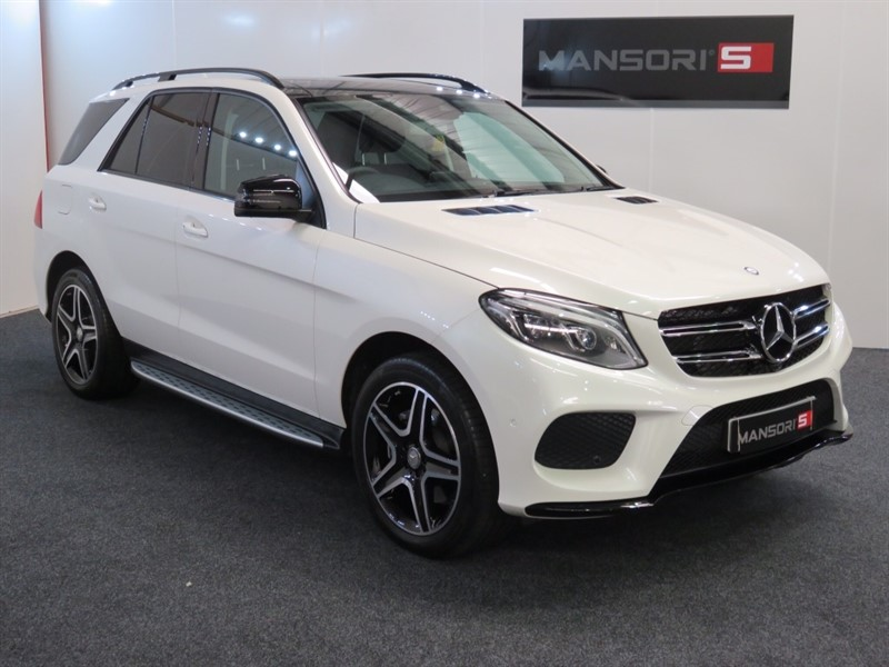 used Mercedes GLE Class GLE250d AMG Line (Premium Pack) 4MATIC 5dr (start/stop) in cheshire