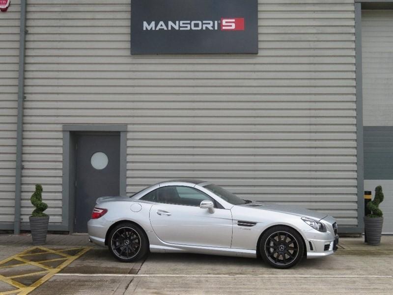 used Mercedes SLK SLK55 AMG Speedshift Plus 7G-Tronic 2dr (start/stop) in cheshire
