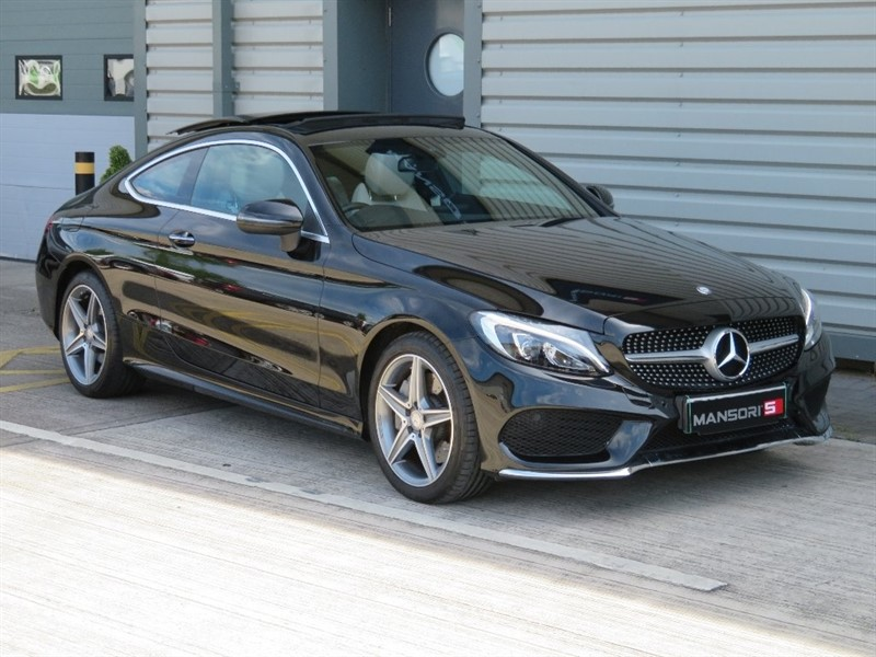 used Mercedes  C Class C250d AMG Line (Premium) Coupe 9G-Tronic Plus 2dr (start/stop) in cheshire
