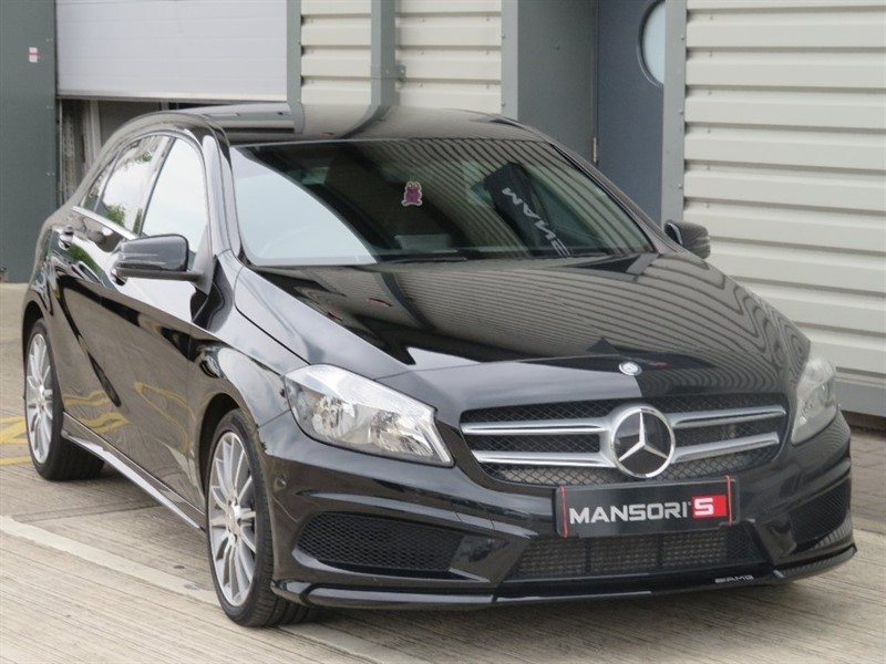 used Mercedes  A Class A180d AMG Line Executive 7G-DCT 5dr (start/stop) in cheshire