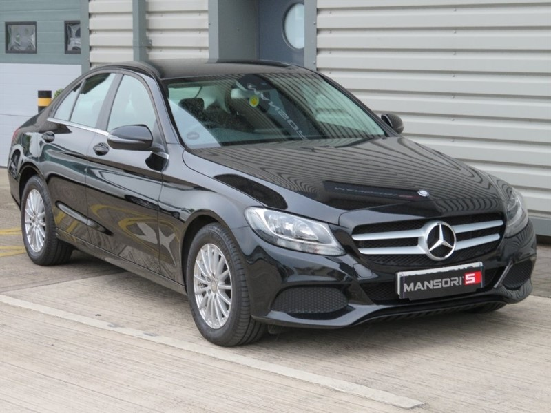 used Mercedes  C Class C220d SE 4dr (start/stop) in cheshire