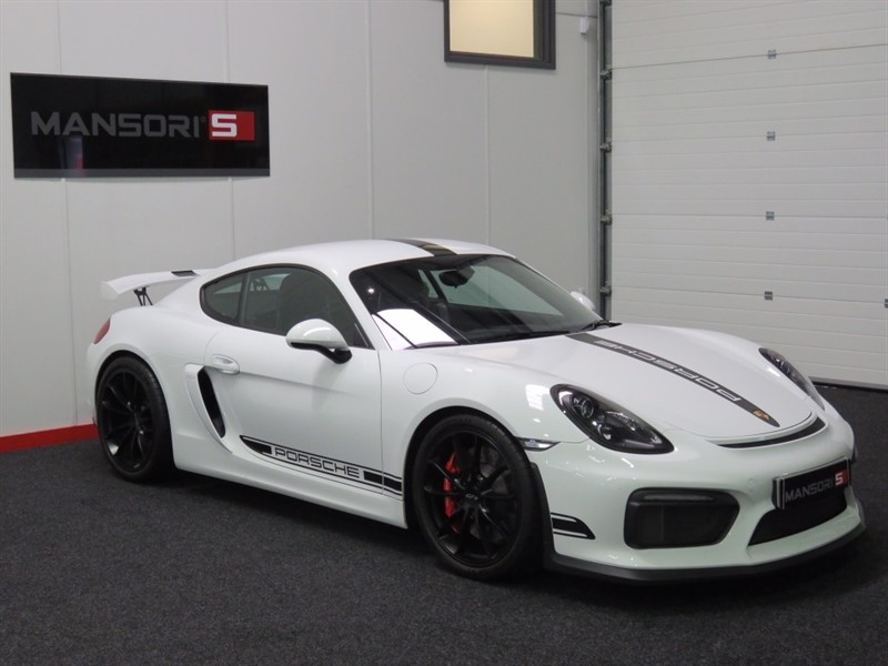 used Porsche Cayman 981 GT4 2dr in cheshire