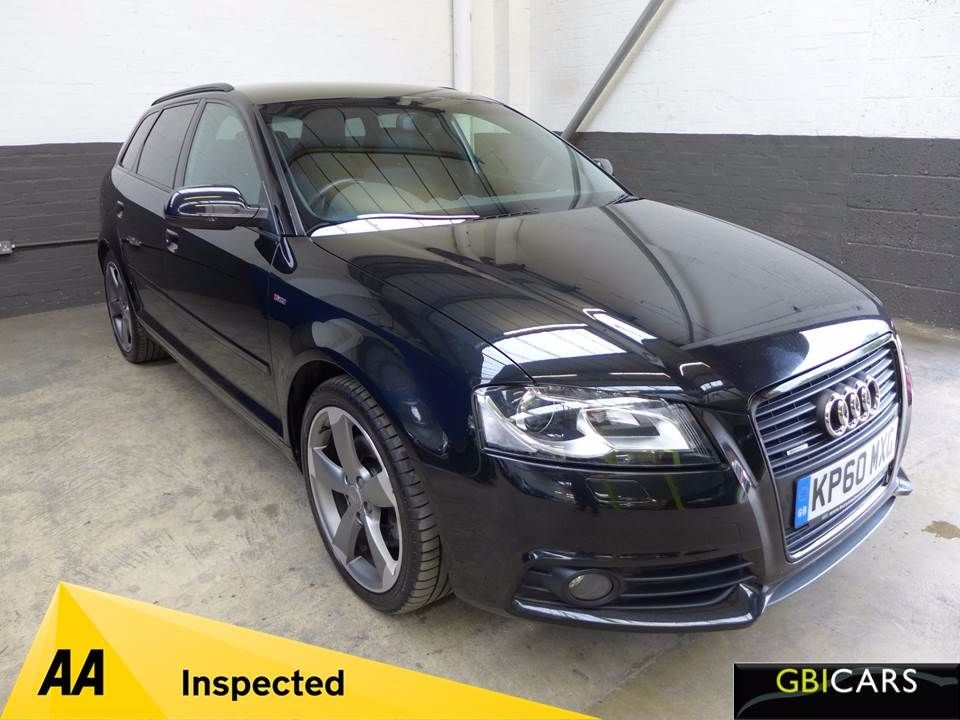 used Audi A3 SPORTBACK TDI QUATTRO S LINE SPECIAL EDITION in leighton-bedfordshire