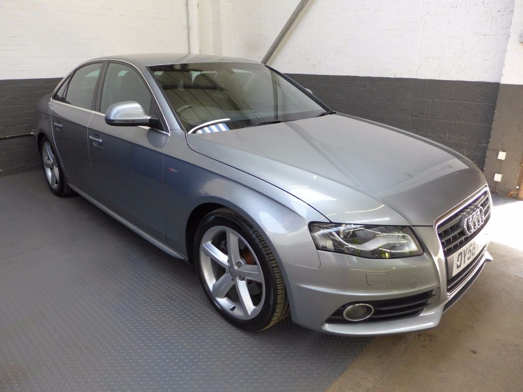 used Audi A4 TDI S LINE in leighton-bedfordshire