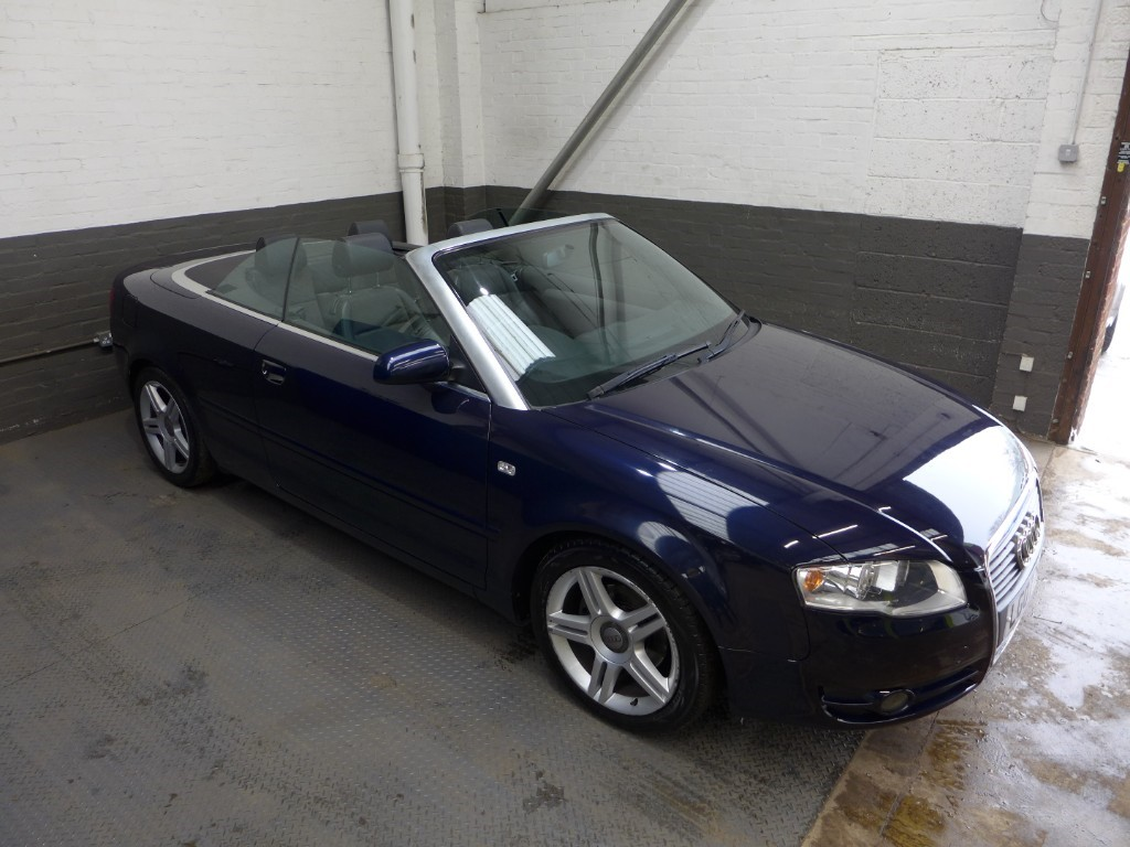 used Audi A4 TDI SPORT DPF in leighton-bedfordshire
