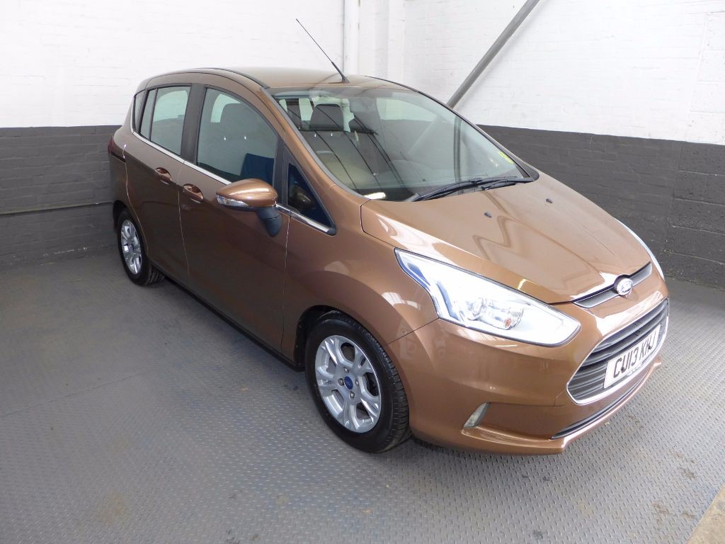 used Ford B-Max ZETEC TDCI in leighton-bedfordshire