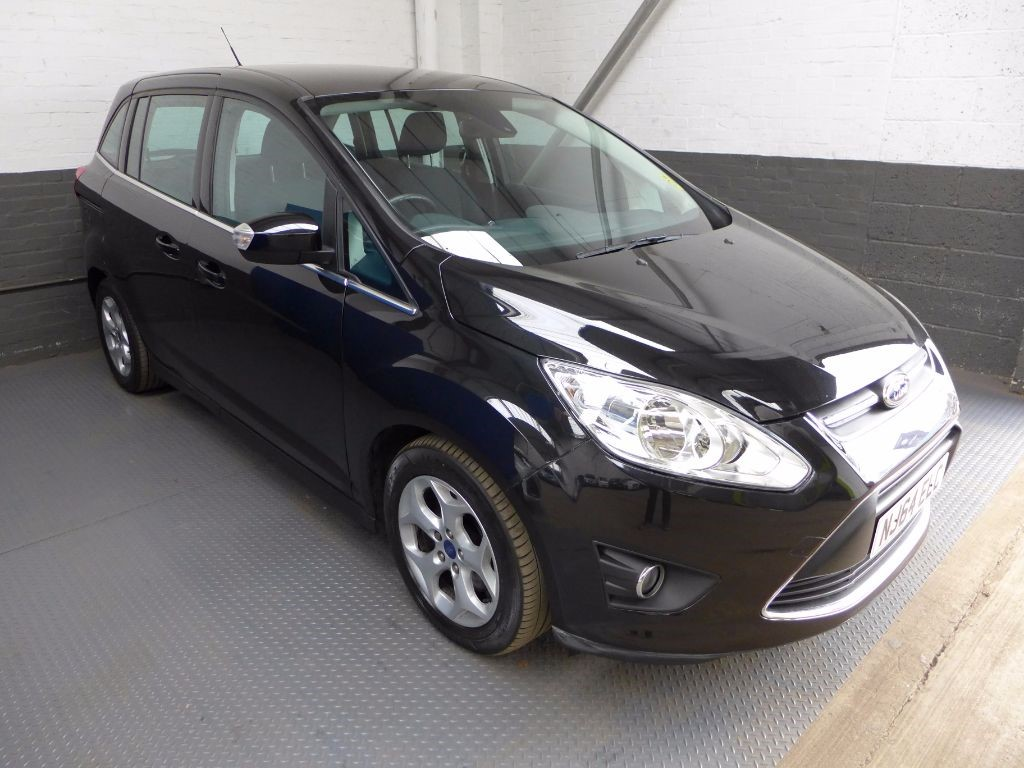 used Ford C-Max GRAND ZETEC TDCI in leighton-bedfordshire