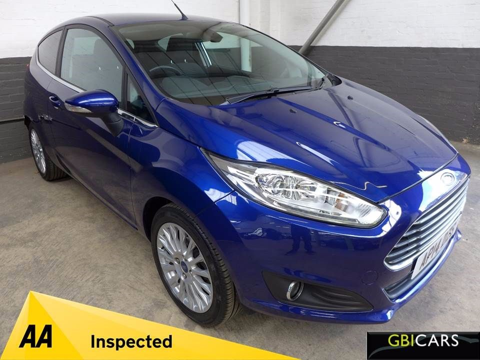 used Ford Fiesta TITANIUM in leighton-bedfordshire