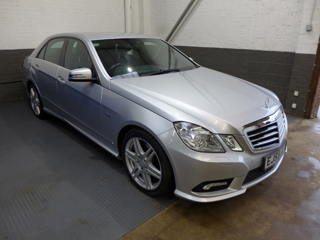 used Mercedes E350 CDI BLUEEFFICIENCY SPORT in leighton-bedfordshire