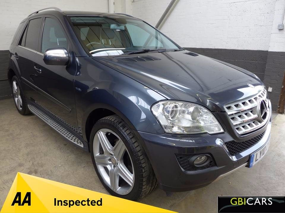 used Mercedes ML350 CDI BLUEEFFICIENCY SPORT in leighton-bedfordshire