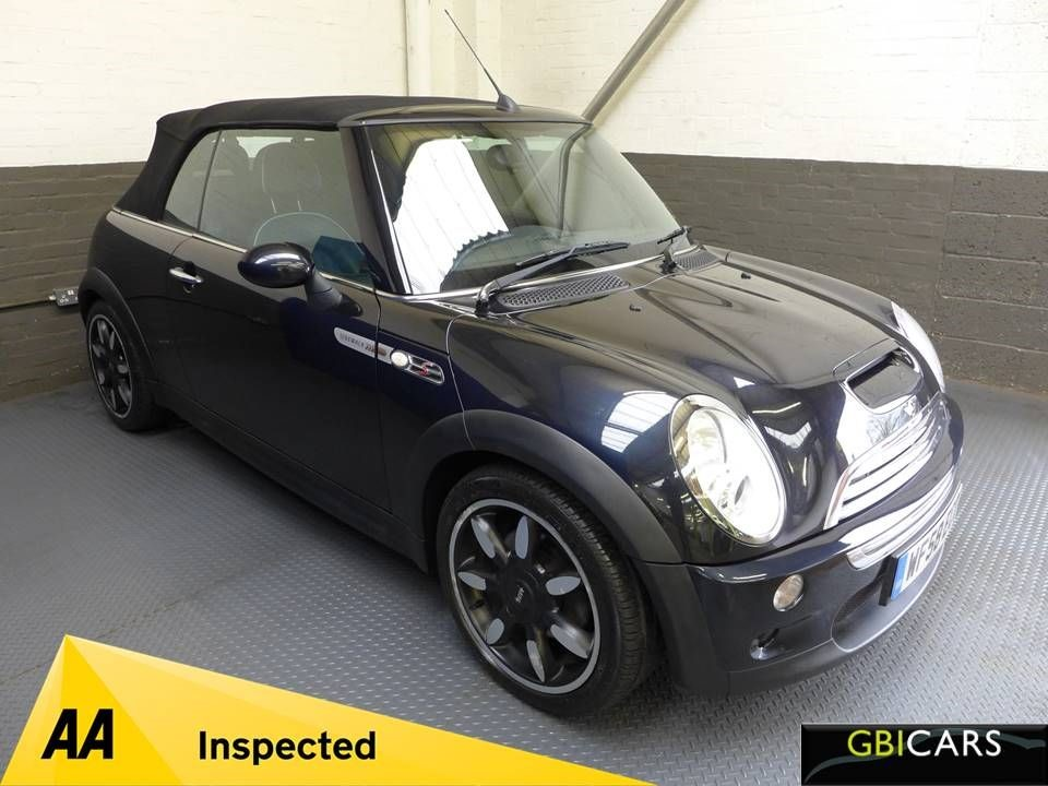 used MINI Convertible COOPER S SIDEWALK in leighton-bedfordshire