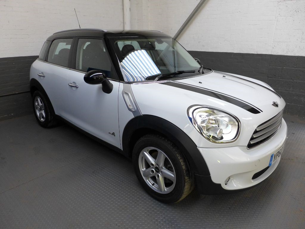 used MINI Countryman COOPER D ALL4 in leighton-bedfordshire