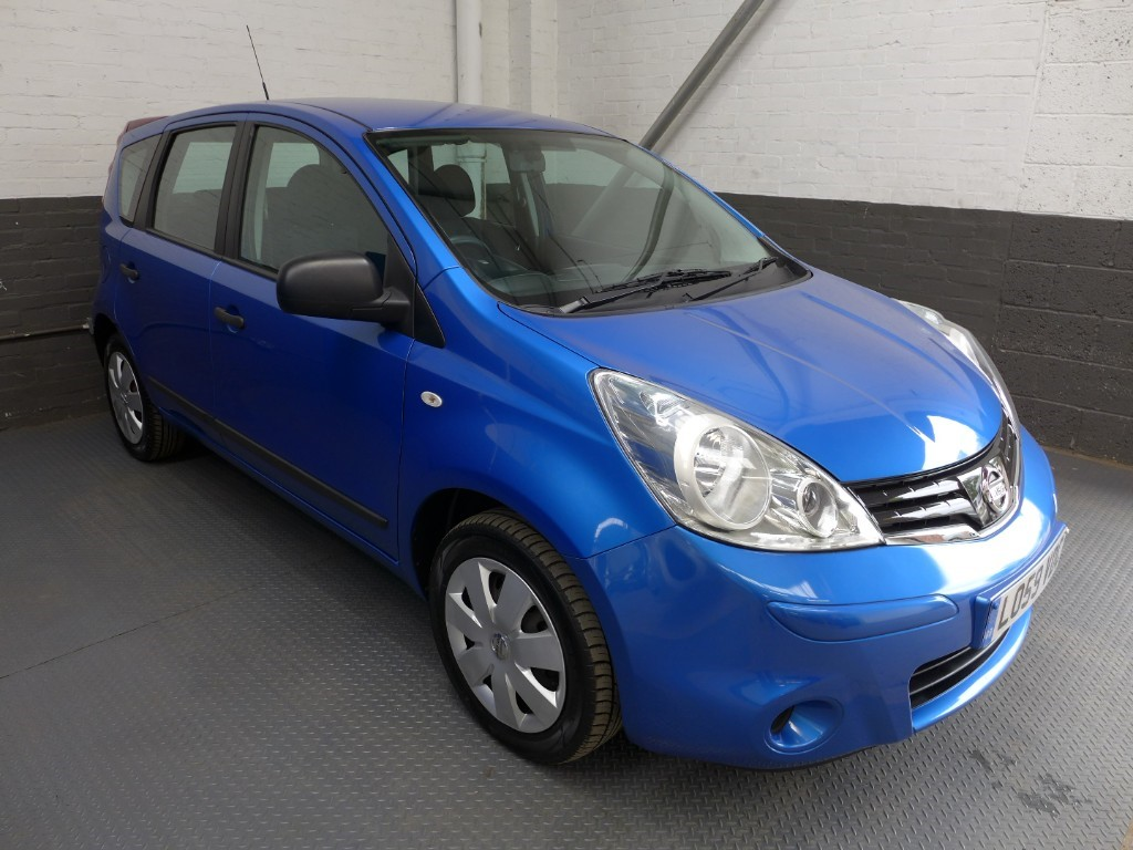 used Nissan Note VISIA in leighton-bedfordshire