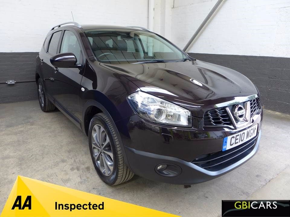 used Nissan Qashqai TEKNA PLUS 2 DCI in leighton-bedfordshire