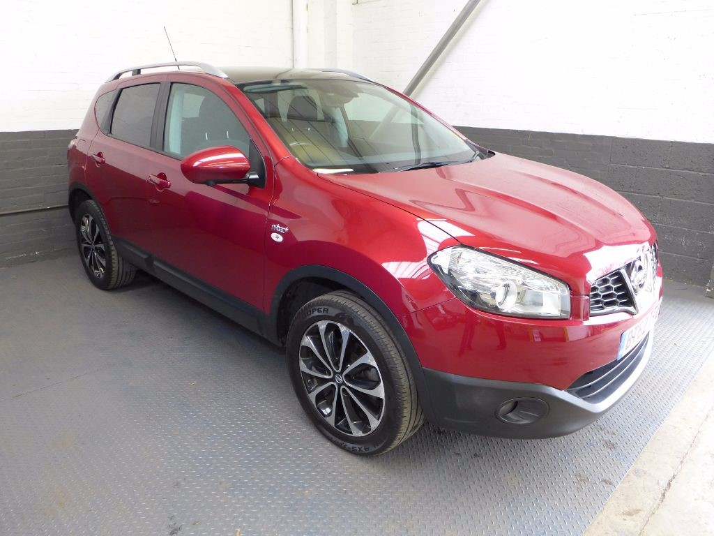 used Nissan Qashqai N-TEC PLUS in leighton-bedfordshire