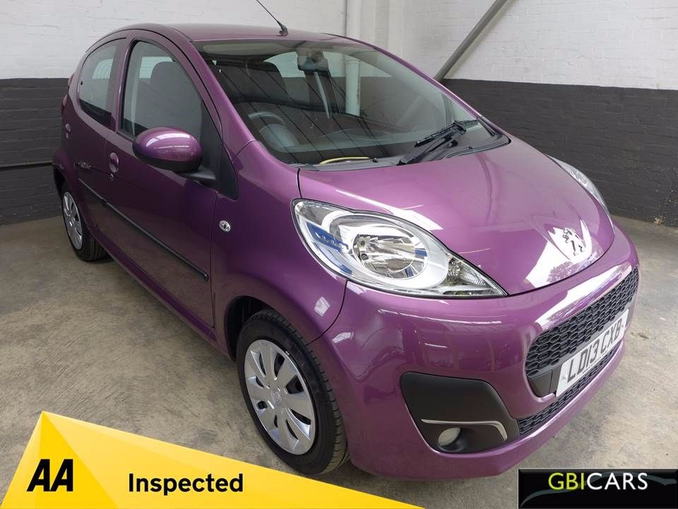 used Peugeot 107 ACTIVE in leighton-bedfordshire