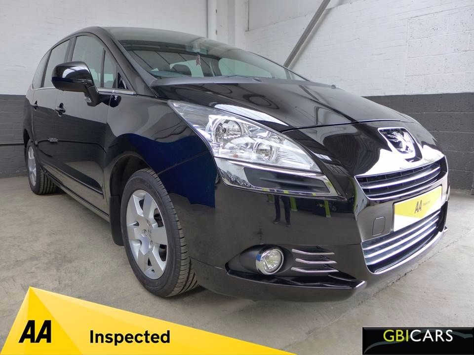 used Peugeot 5008 HDI SPORT in leighton-bedfordshire