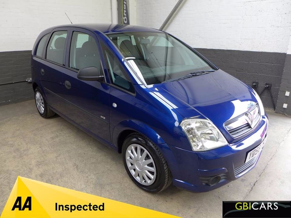 used Vauxhall Meriva LIFE 16V TWINPORT in leighton-bedfordshire