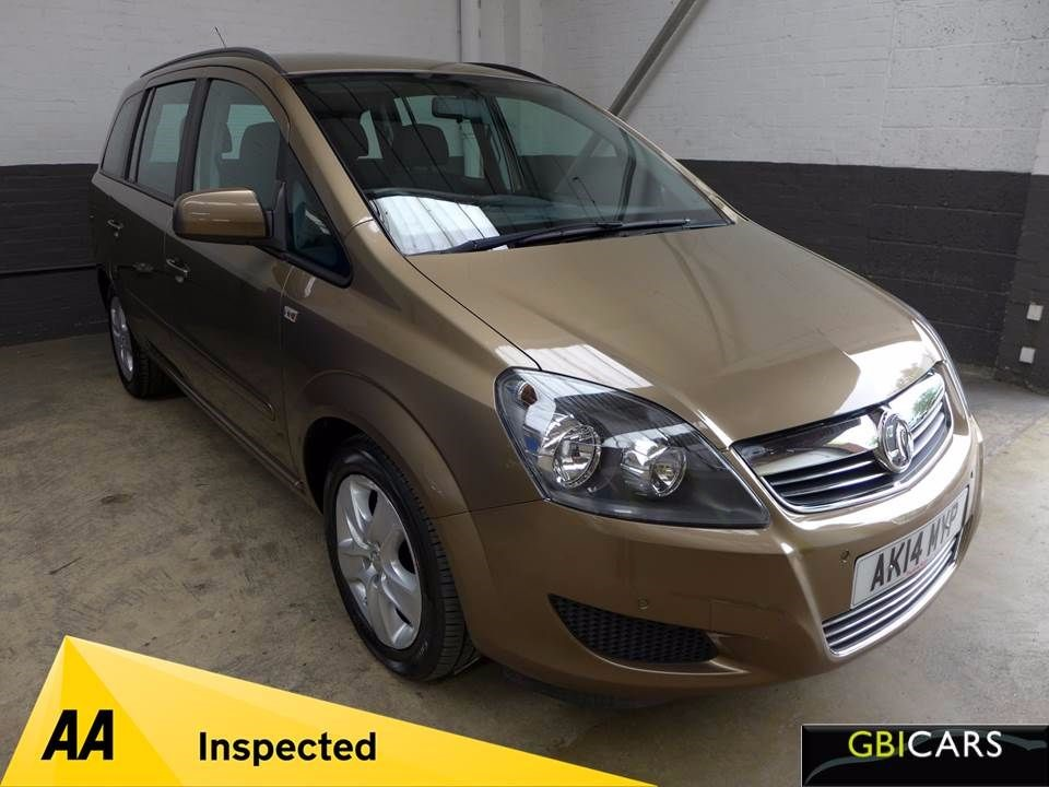 used Vauxhall Zafira EXCLUSIV in leighton-bedfordshire