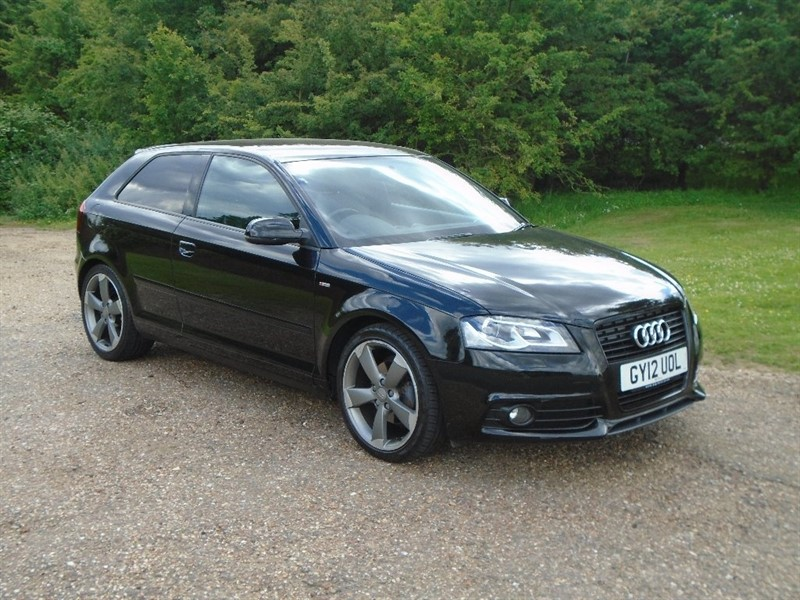 used Audi A3 TDI Black Edition 3dr in wickham-bishops-essex