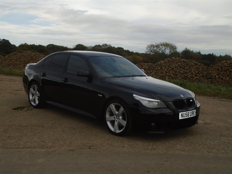 used BMW 520d 5 Series M Sport 4dr in wickham-bishops-essex