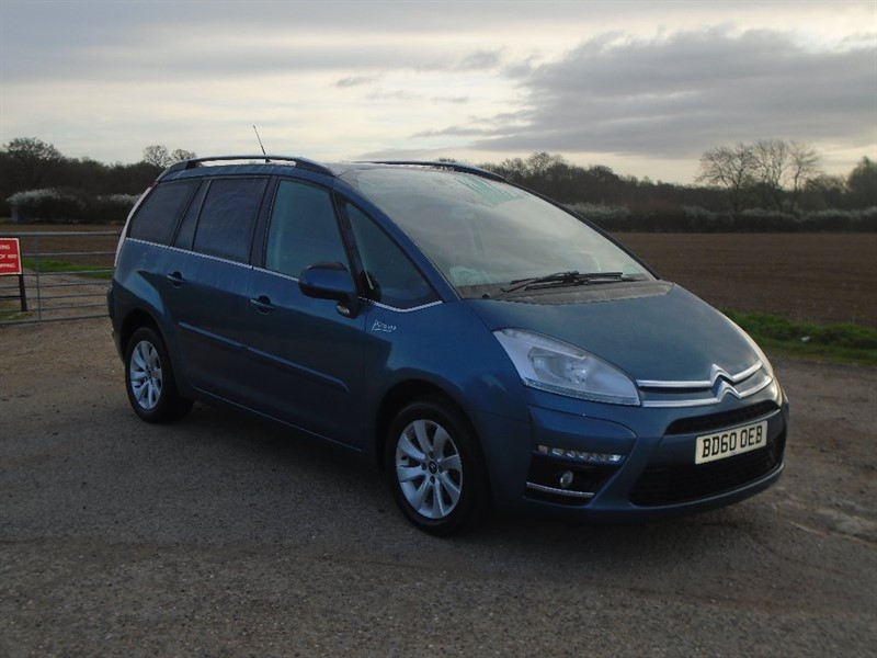 used Citroen Grand C4 Picasso e-HDi VTR+ EGS 5dr in wickham-bishops-essex