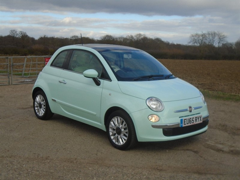used Fiat 500 1.2 Lounge 3dr (start/stop) in wickham-bishops-essex