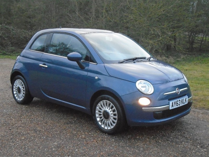 used Fiat 500 1.2 Lounge 3dr (start/stop) in wickham-bishops-essex