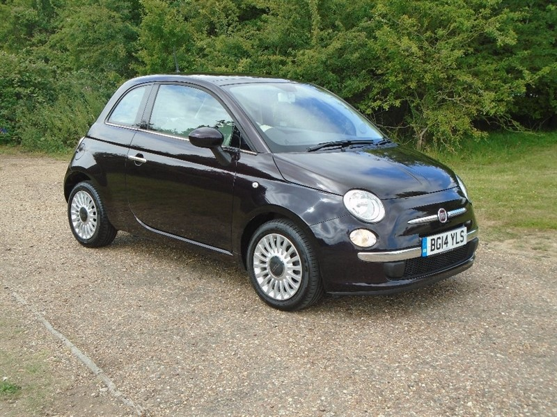 used Fiat 500 TwinAir Lounge 3dr in wickham-bishops-essex