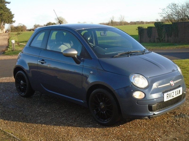 used Fiat 500 TwinAir 3dr (start/stop) in wickham-bishops-essex