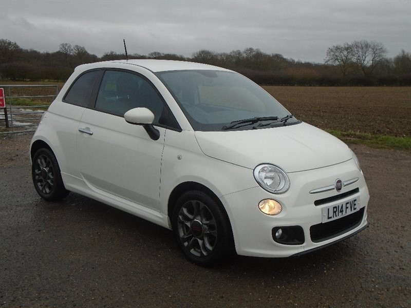 used Fiat 500 1.2 S Dualogic (s/s) 3dr in wickham-bishops-essex