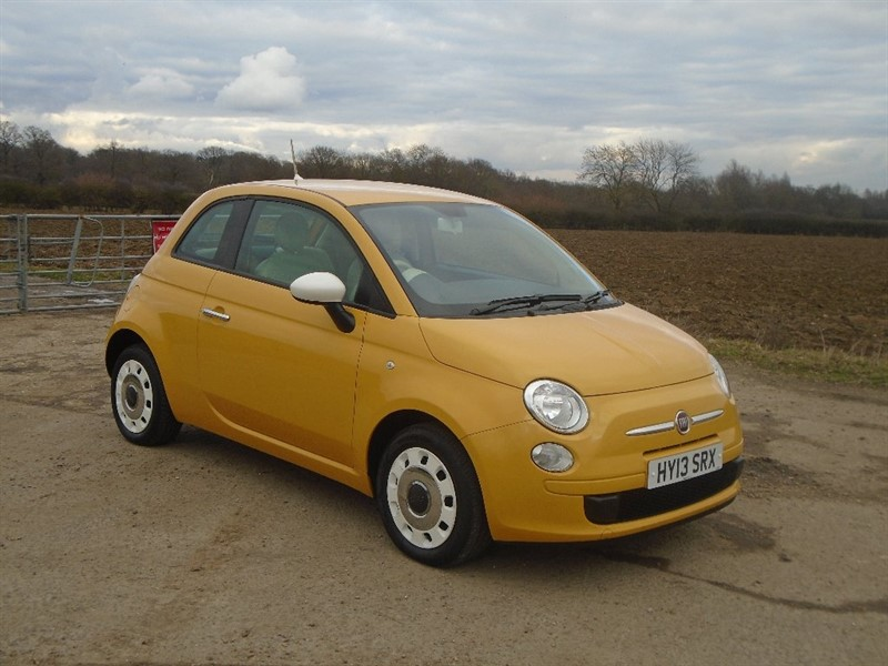 used Fiat 500 1.2 Colour Therapy 3dr in wickham-bishops-essex