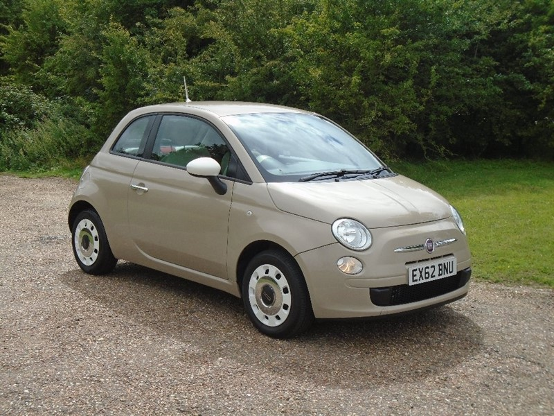 Car of the week - Fiat 500 1.2 Colour Therapy 3dr - Only £3,650