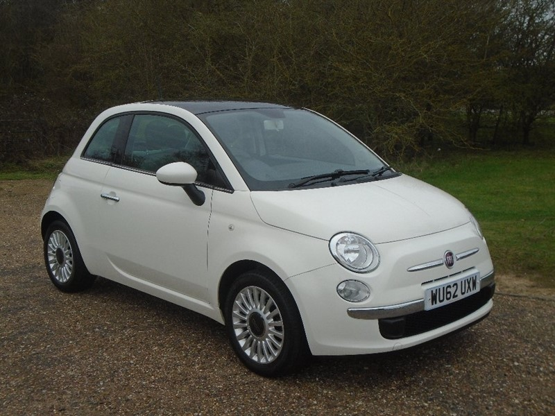 used Fiat 500 1.2 Lounge (s/s) 3dr in wickham-bishops-essex