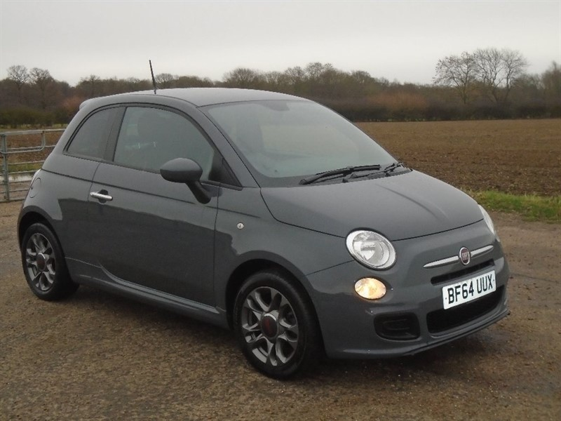 used Fiat 500 1.2 S (s/s) 3dr in wickham-bishops-essex