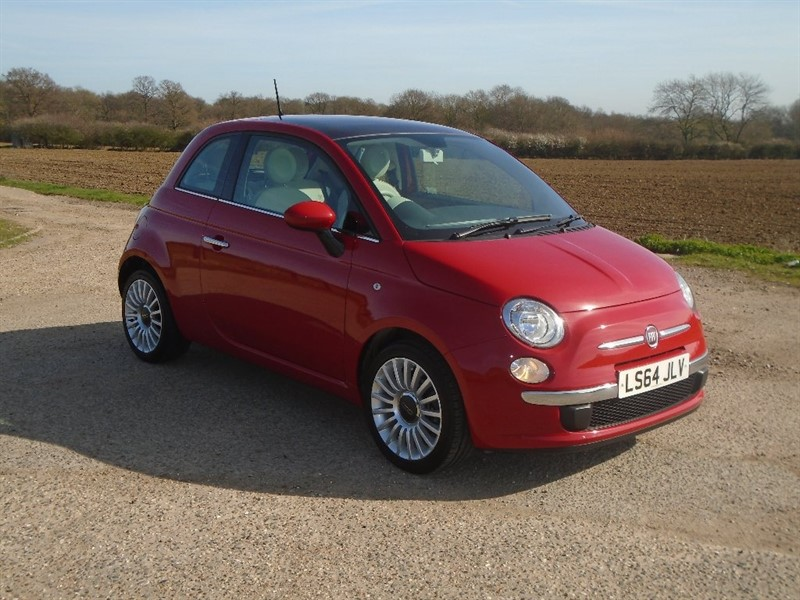 used Fiat 500 1.2 Lounge Dualogic 3dr (start/stop) in wickham-bishops-essex