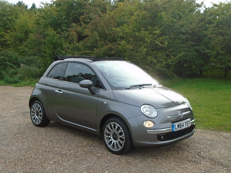 used Fiat 500C TwinAir Lounge 2dr (start/stop) in wickham-bishops-essex