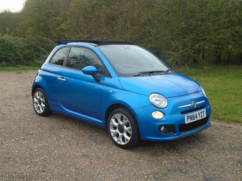 used Fiat 500C 1.2 S 2dr (start/stop) in wickham-bishops-essex