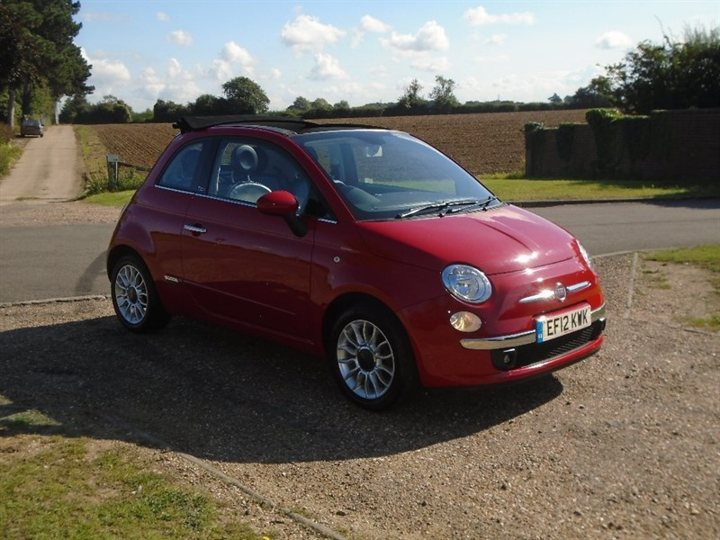used Fiat 500C 1.2 Lounge 2dr in wickham-bishops-essex