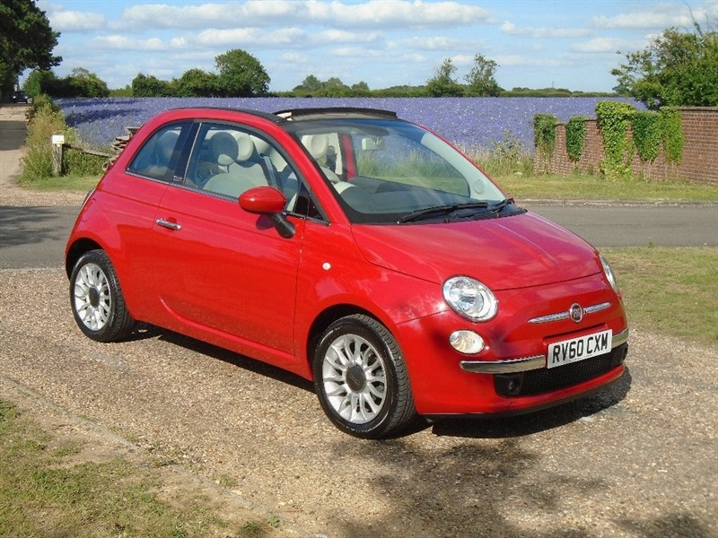 used Fiat 500C 1.2 Lounge 2dr (start/stop) in wickham-bishops-essex