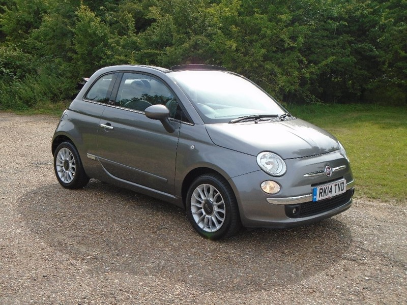 used Fiat 500C TwinAir Lounge 2dr in wickham-bishops-essex