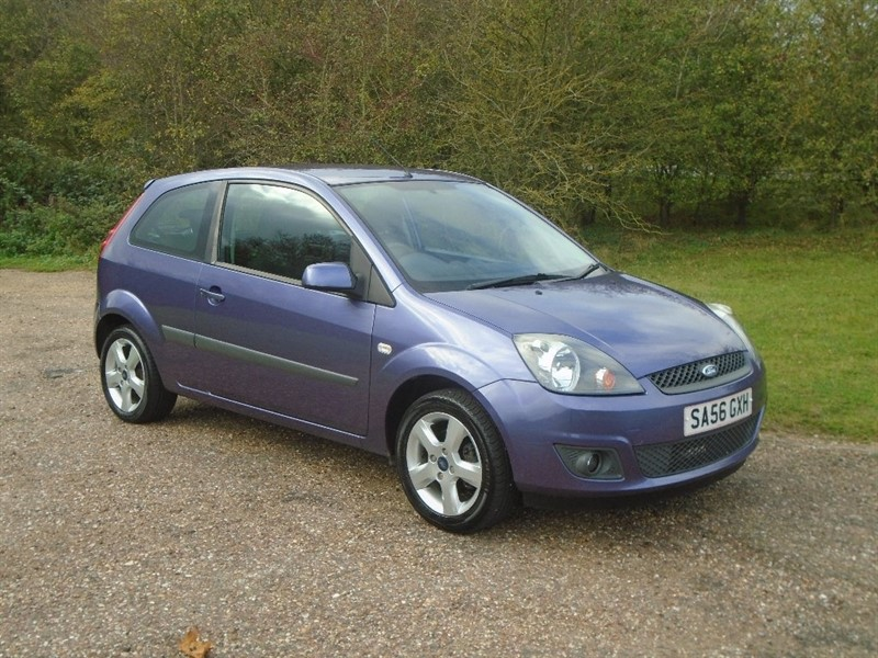 used Ford Fiesta Freedom 3dr in wickham-bishops-essex
