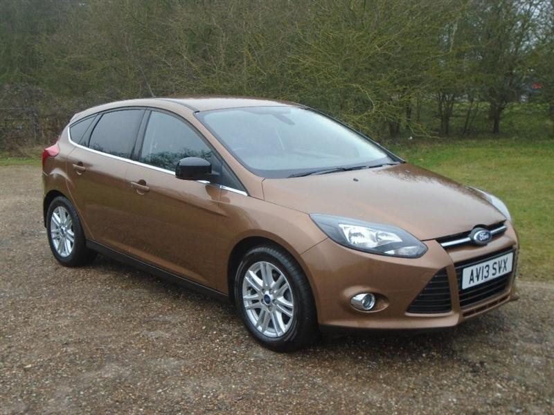 used Ford Focus TDCi Titanium 5dr in wickham-bishops-essex