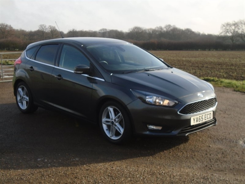 used Ford Focus Ti-VCT Zetec Powershift 5dr in wickham-bishops-essex
