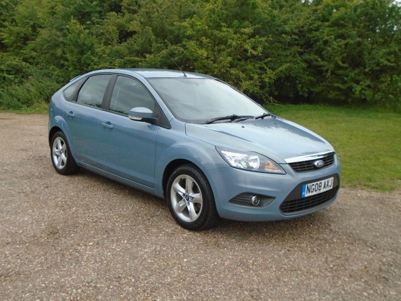 used Ford Focus Zetec 5dr in wickham-bishops-essex